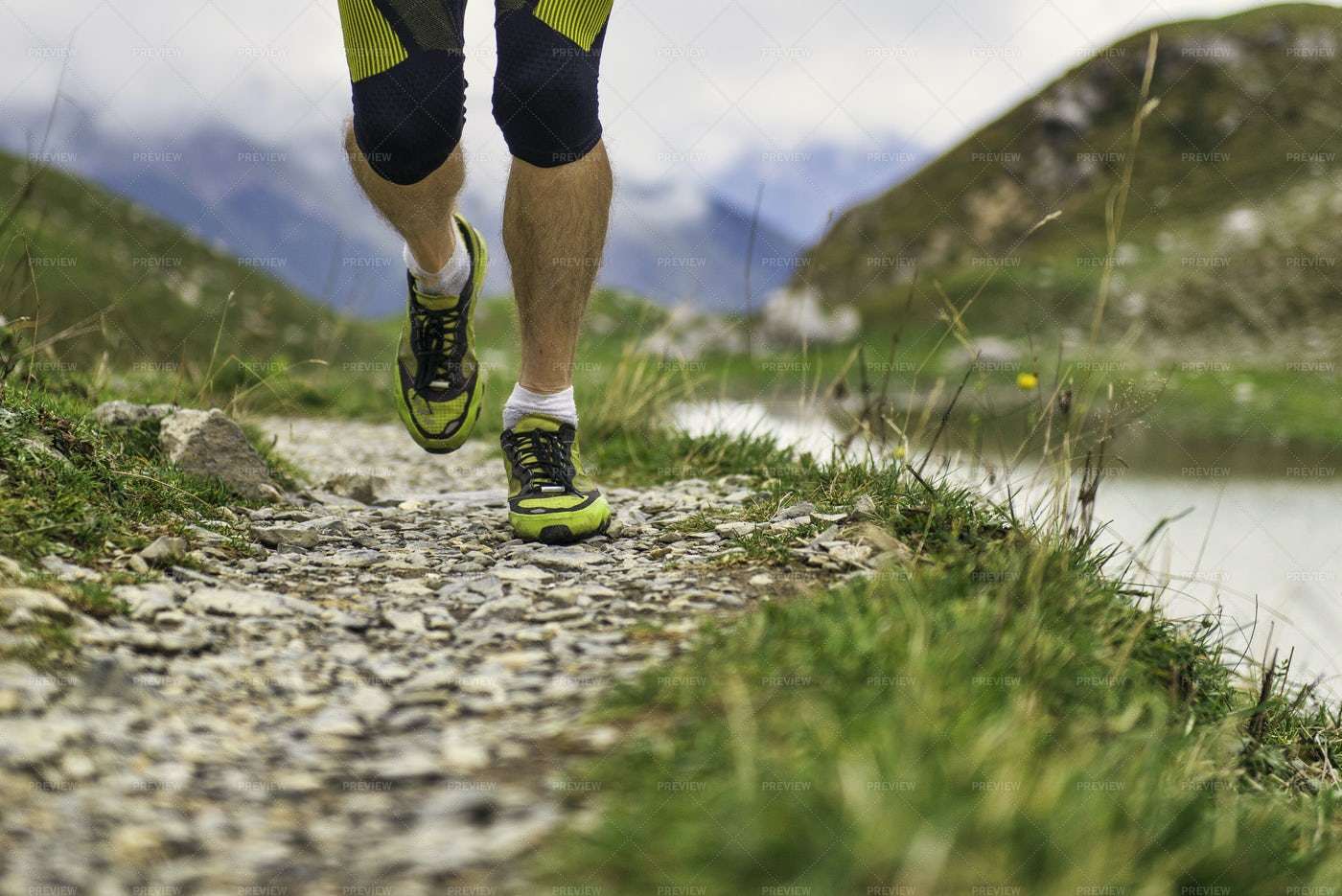 Shoes Of A Runner: Stock Photos
