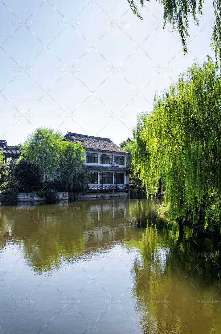 Lake Shaoxing: Stock Photos