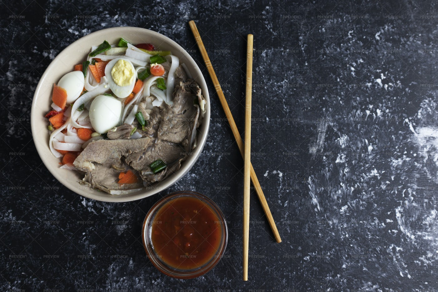 Soup With Noodles: Stock Photos