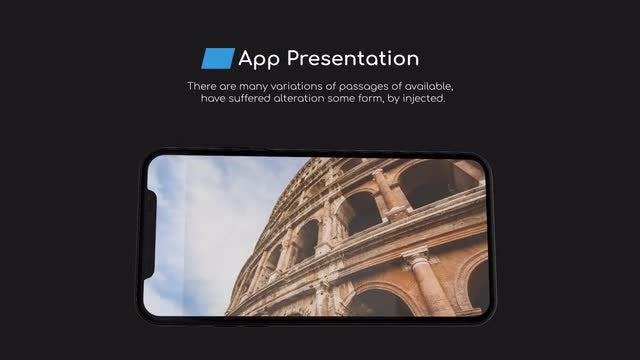 IPhone x   App Presentation: After Effects Templates