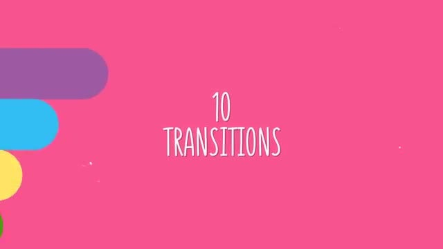 Summer Transitions Line Pack: After Effects Templates