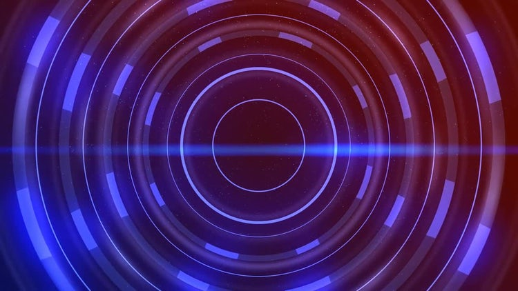 Blue Circles Background Loop: Stock Motion Graphics