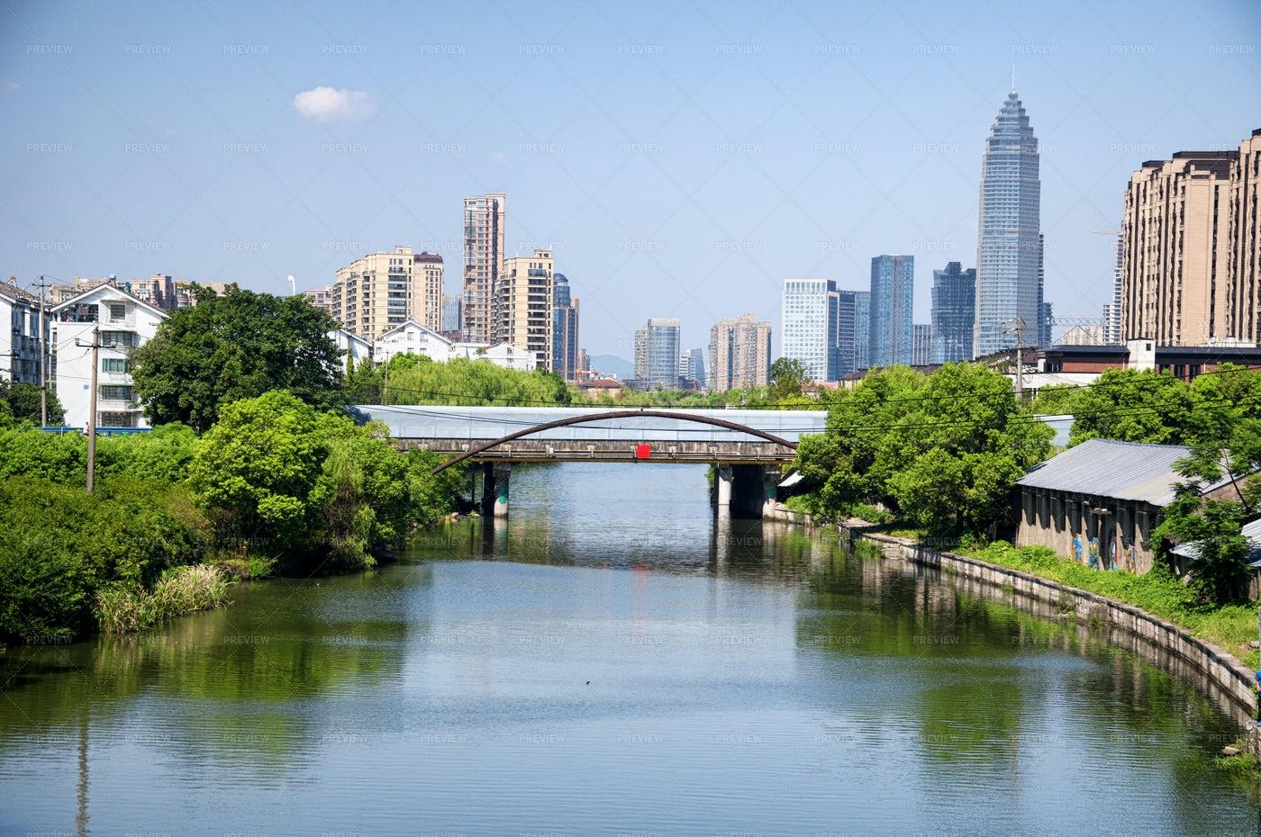 City Of Shaoxing, China: Stock Photos