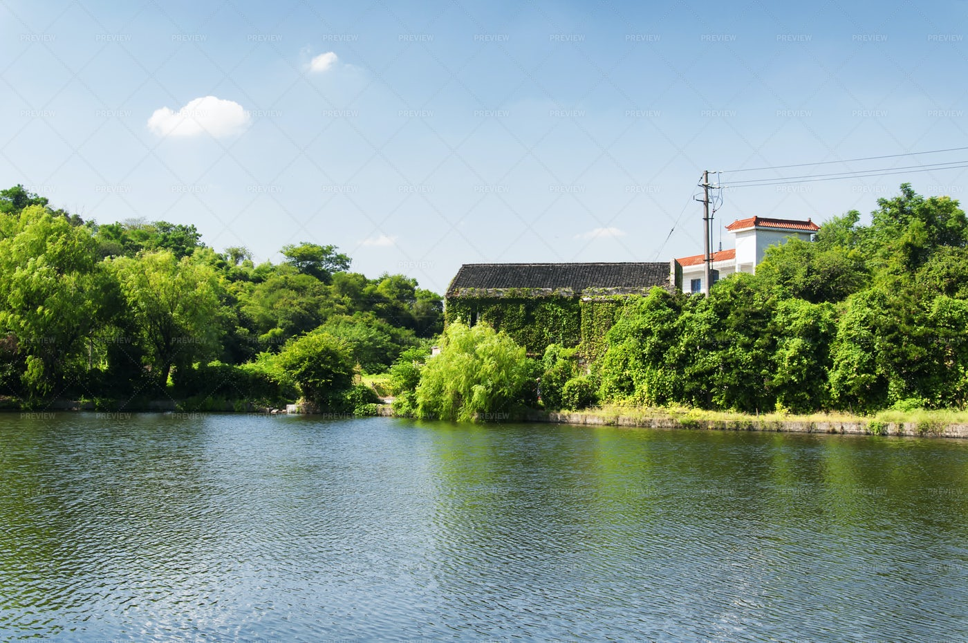 East Lake In Shaoxing: Stock Photos