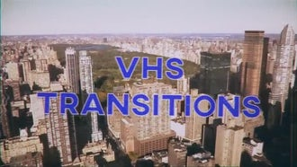 VHS Transitions: Stock Motion Graphics