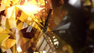 Crystal Background: Motion Graphics
