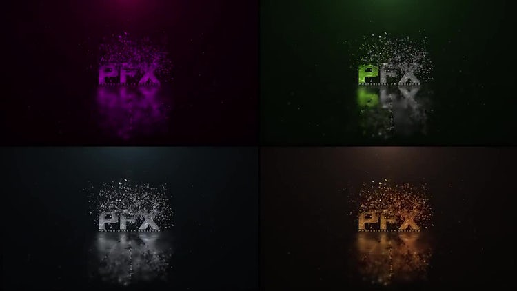 Particle Logo Reveal: After Effects Templates