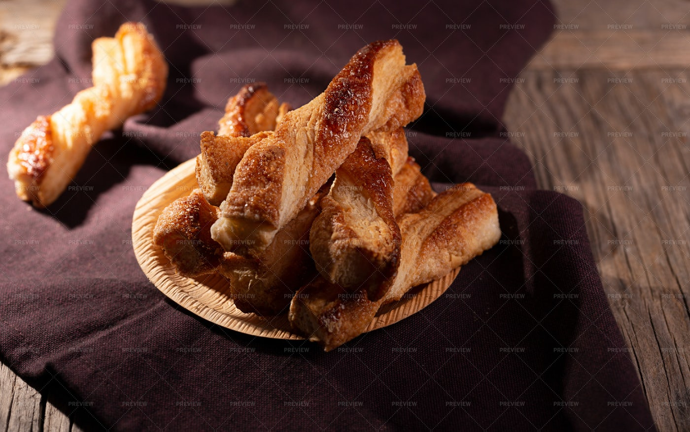 Spanish Shortcrust Pastries: Stock Photos