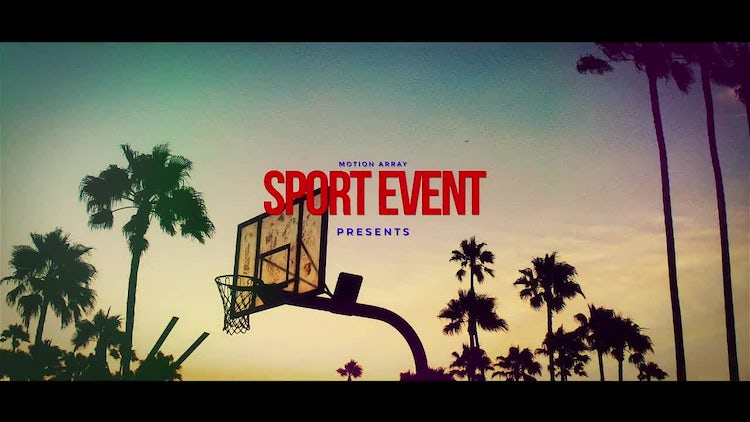 Professional Sport Event Promo: After Effects Templates