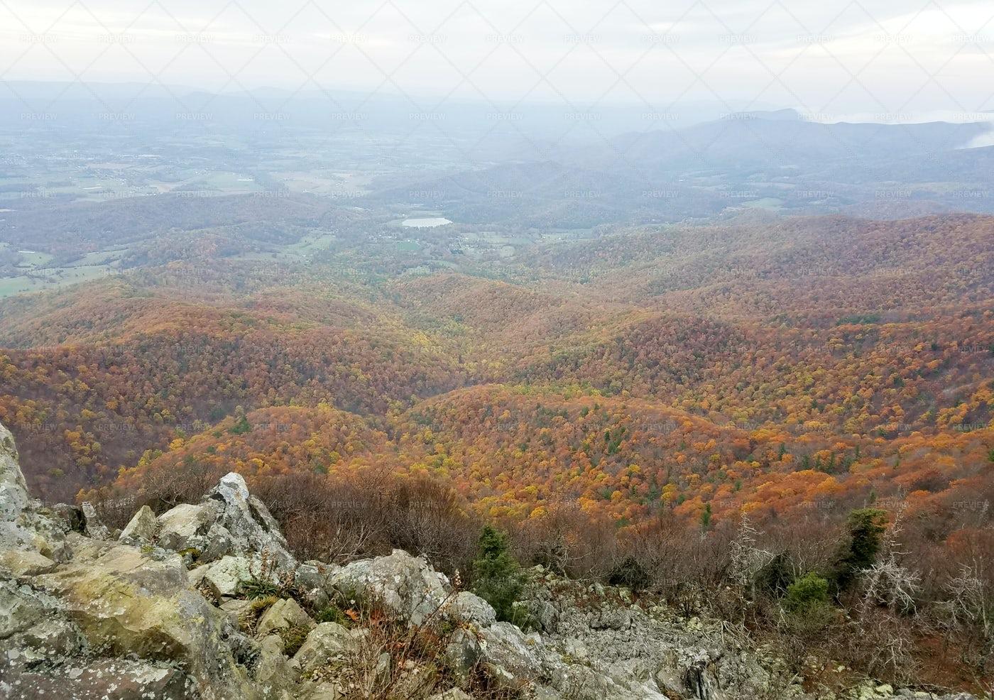 Shenandoah Valley During Autumn: Stock Photos