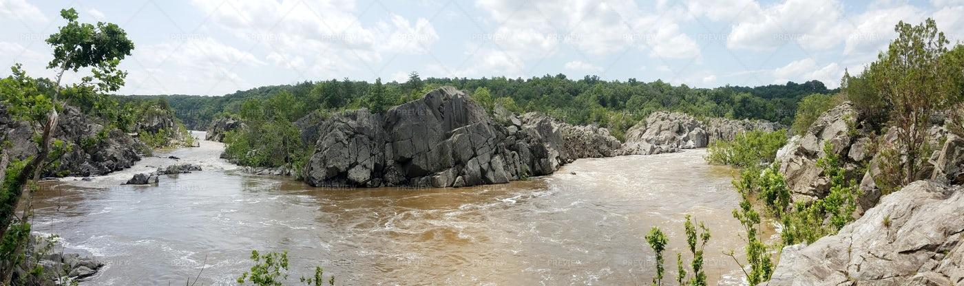 Potomac River In Maryland: Stock Photos