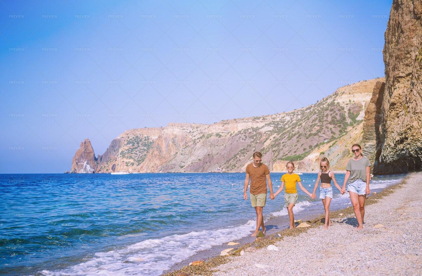 Family On Vacation: Stock Photos