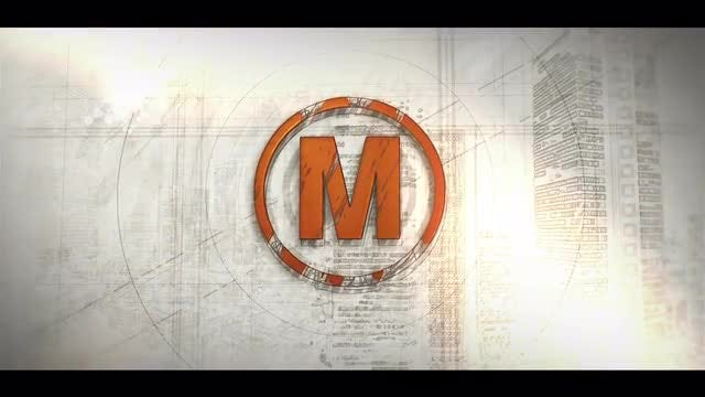 Draft Sketch Logo: After Effects Templates