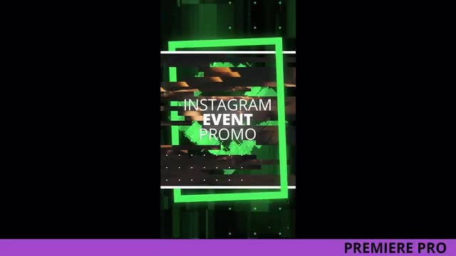 Instagram Event Promo: Premiere Pro Templates