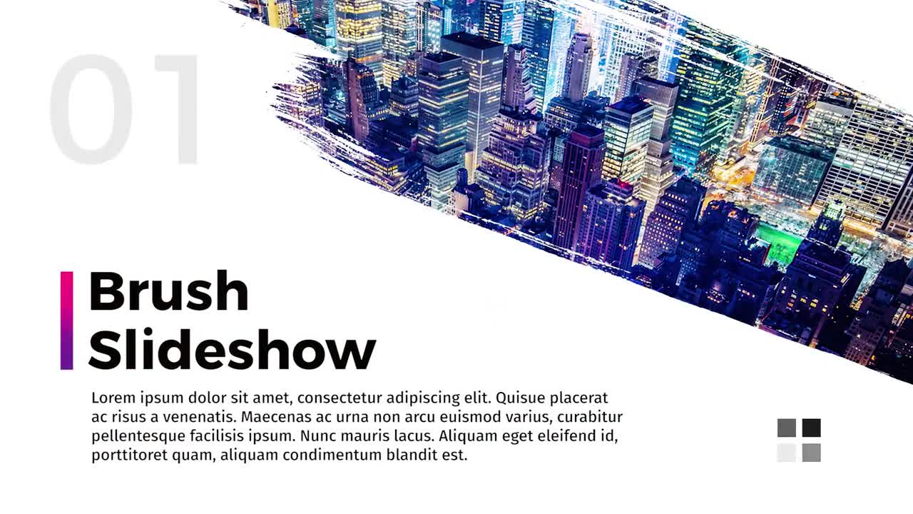 Brush Slideshow - Premiere Pro Templates 77062