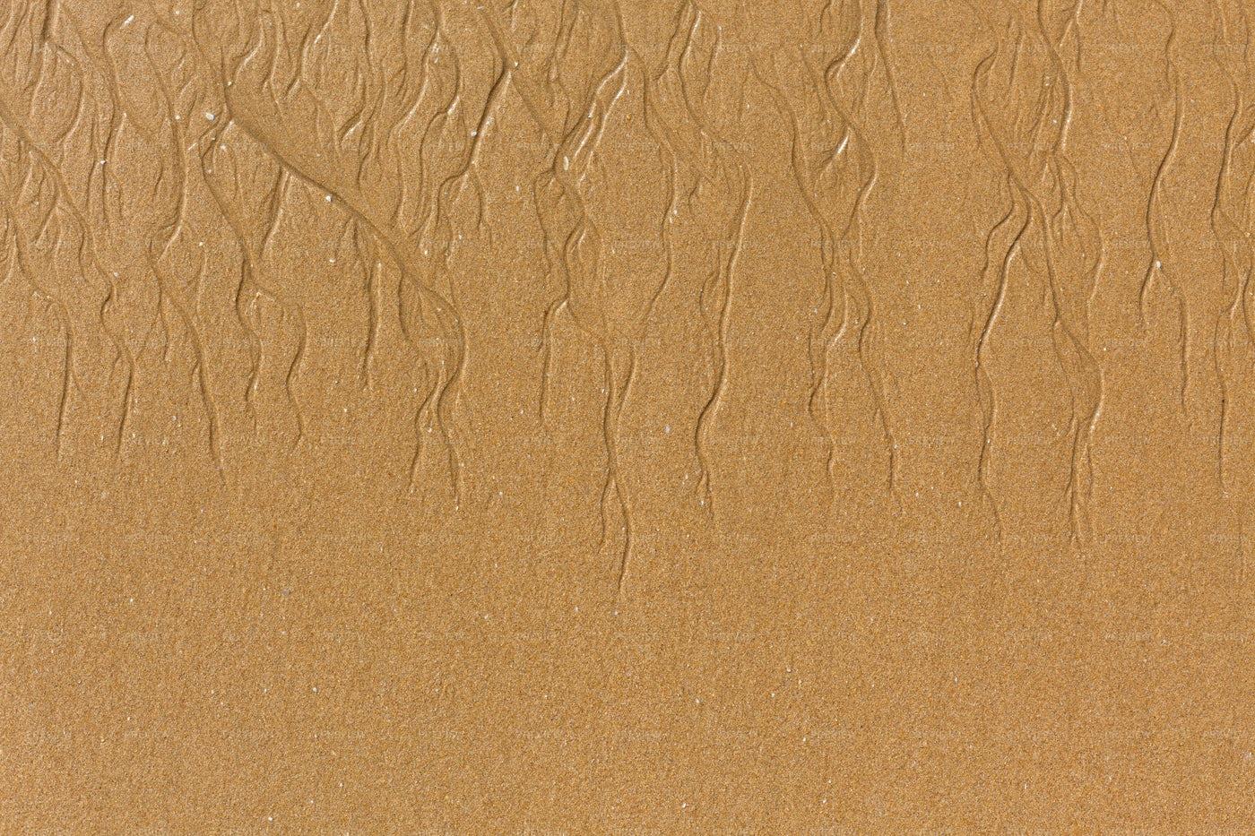 Yellow Sand Background: Stock Photos