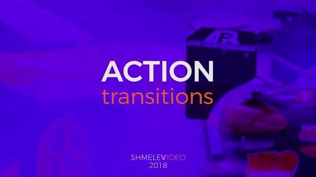 Action Transitions V.2: Premiere Pro Templates