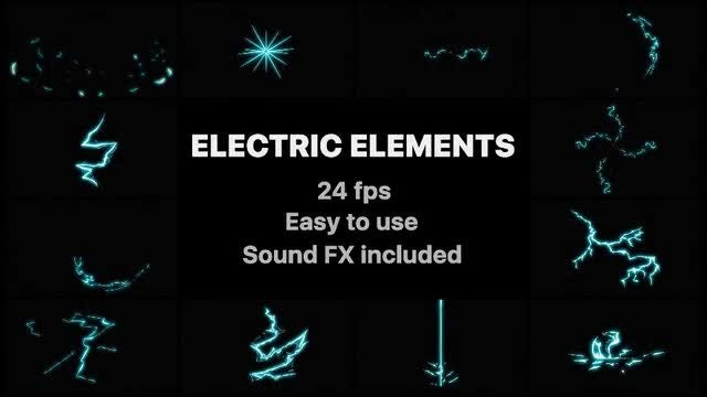 Electric Elements: After Effects Templates