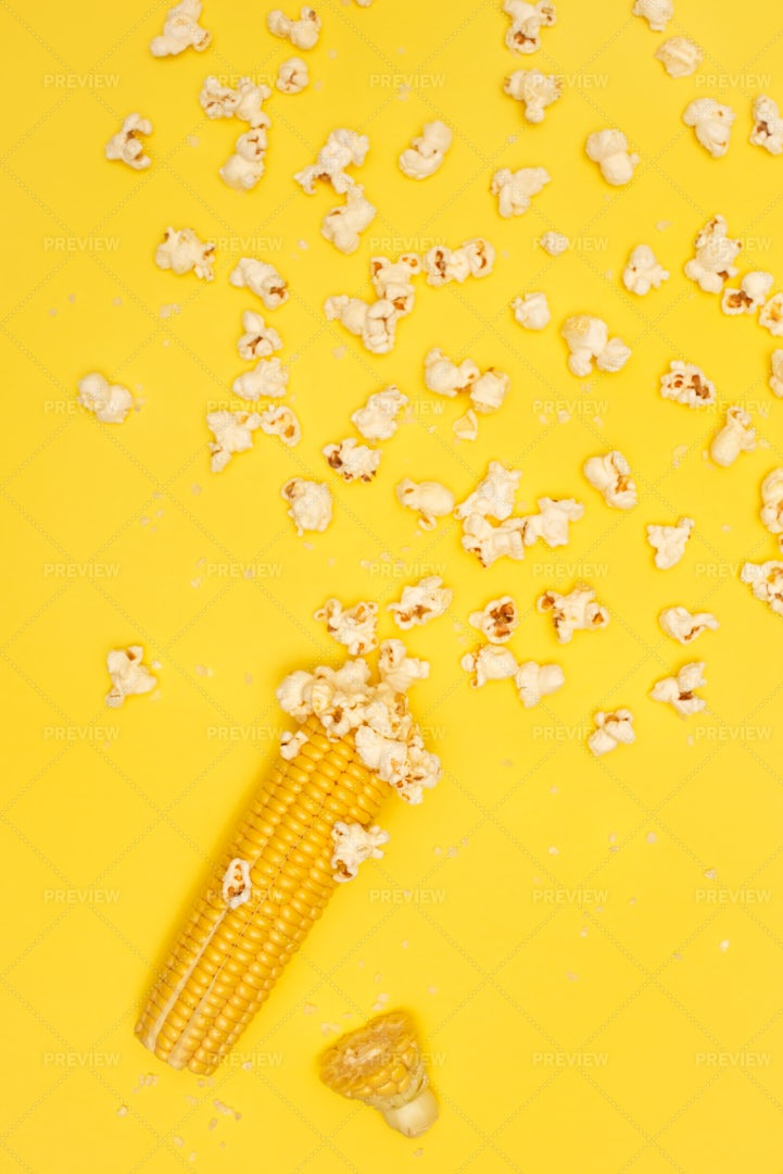 Corn And Popcorns: Stock Photos