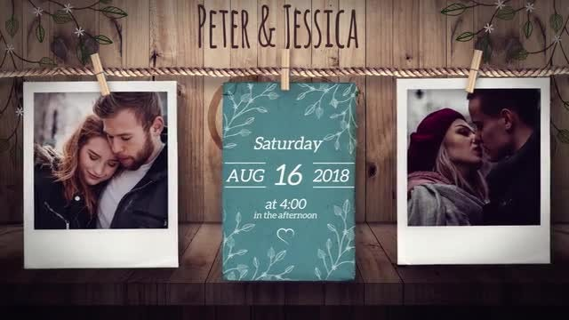 Sweet Save the Date: After Effects Templates