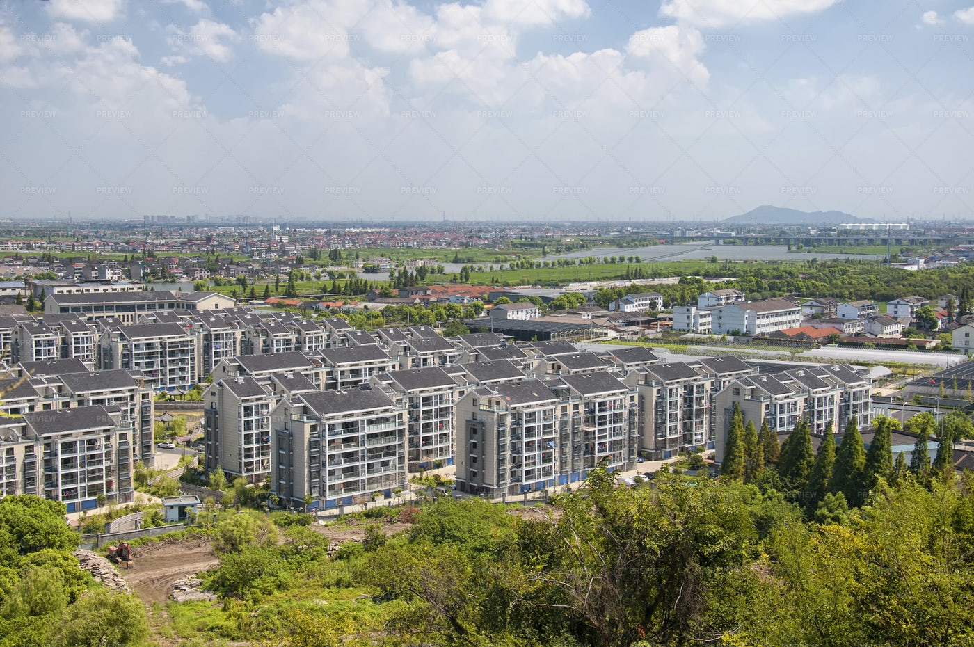 Shaoxing's Residential Area: Stock Photos