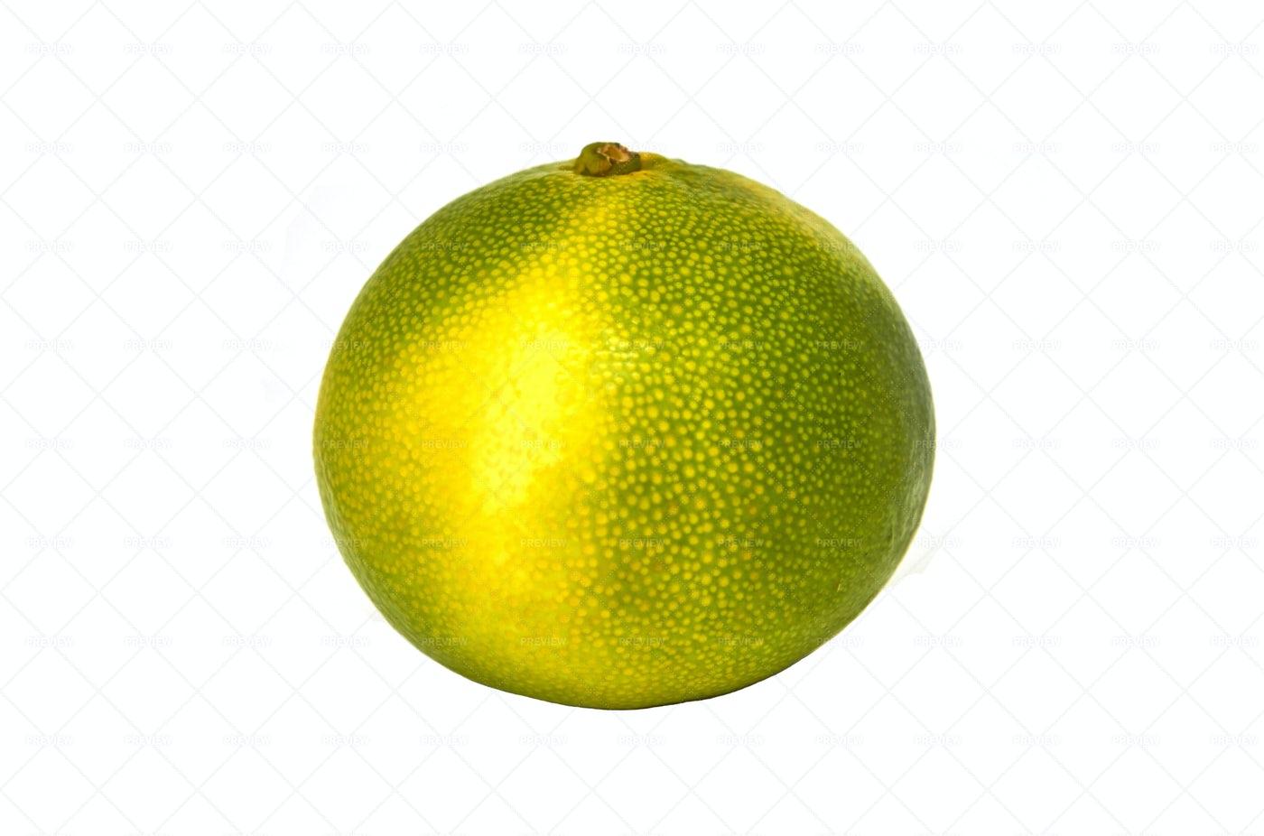 Green Yellow Mandarin: Stock Photos