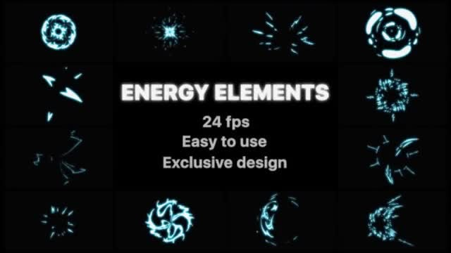 Energy Elements: Stock Motion Graphics