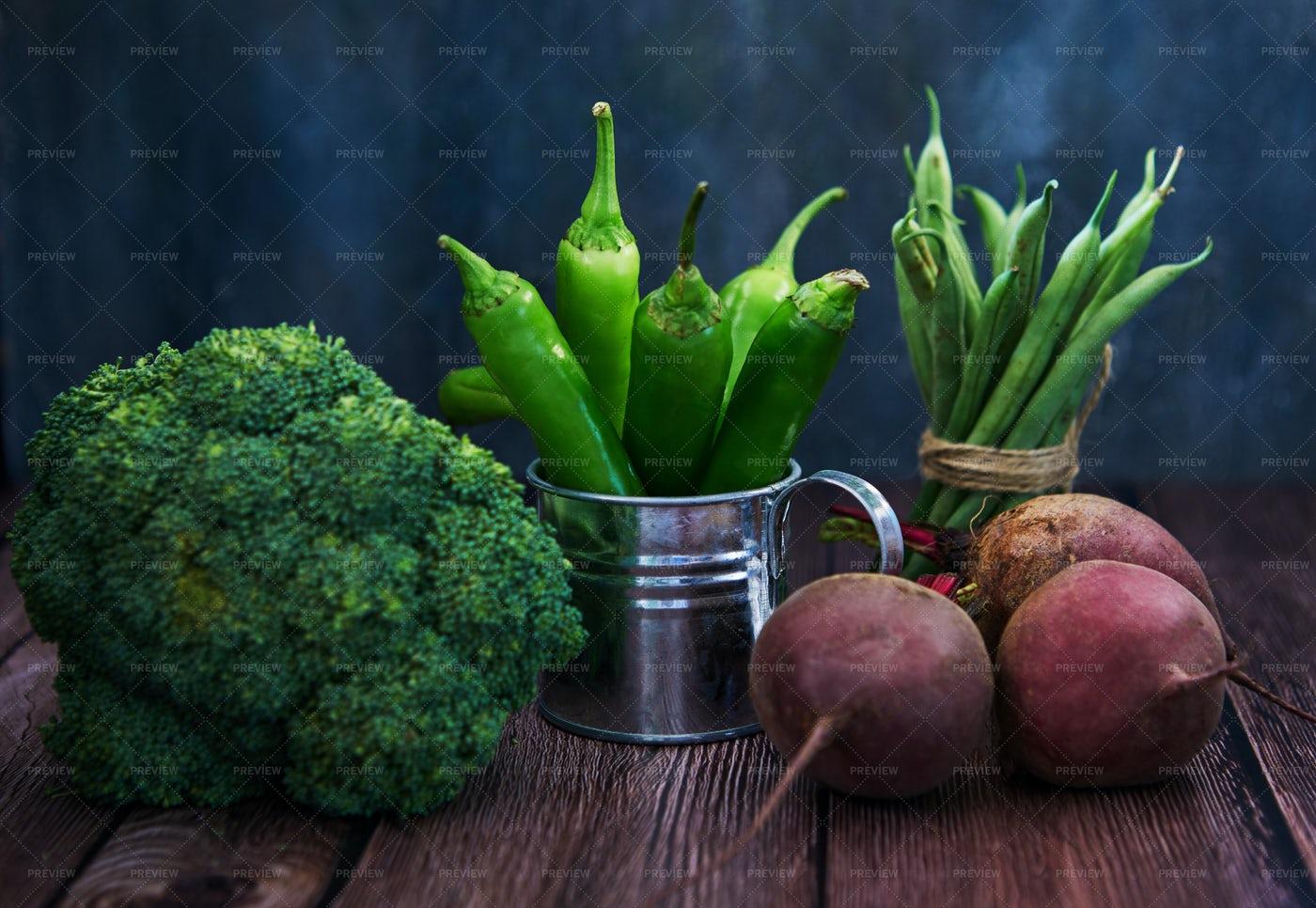 Raw Vegetables: Stock Photos