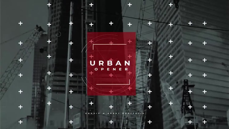 Urban Opener 4K: After Effects Templates