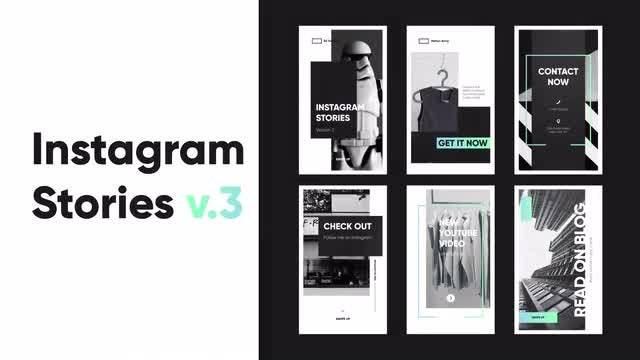 Instagram Stories v.3: After Effects Templates