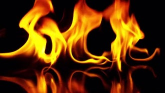 Fuel Fire Burning : Stock Footage