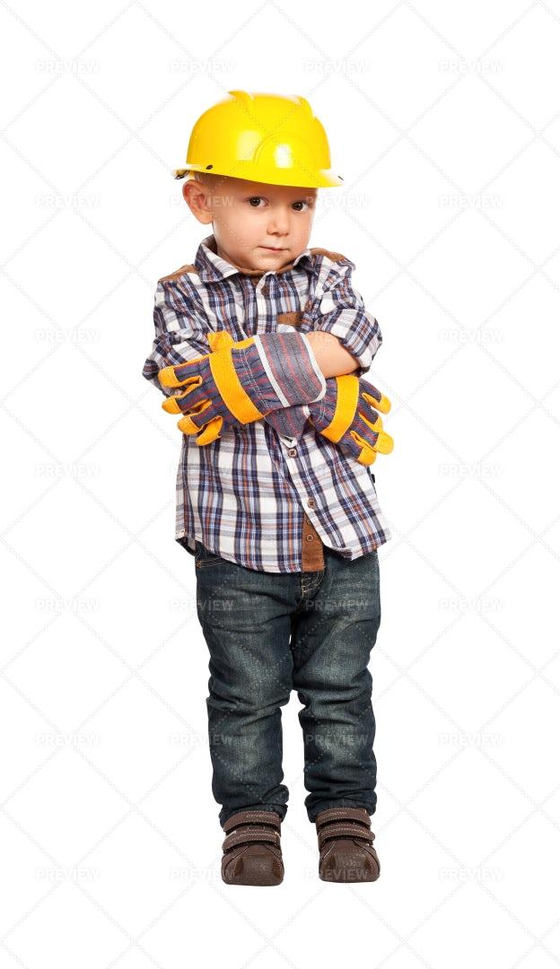 Little Handyman: Stock Photos
