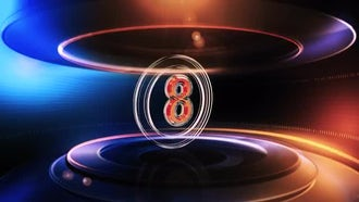 Broadcast  Countdown: Motion Graphics