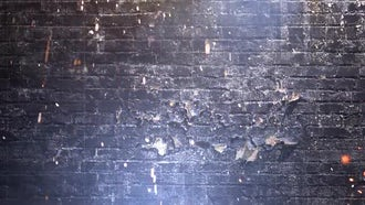 Grunge Wall Background: Motion Graphics