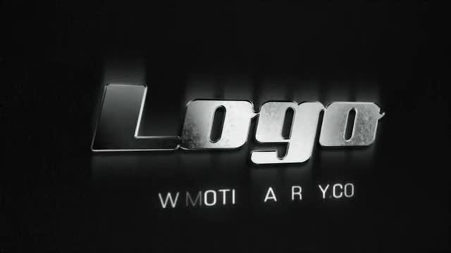 Metal Grunge Logo: After Effects Templates