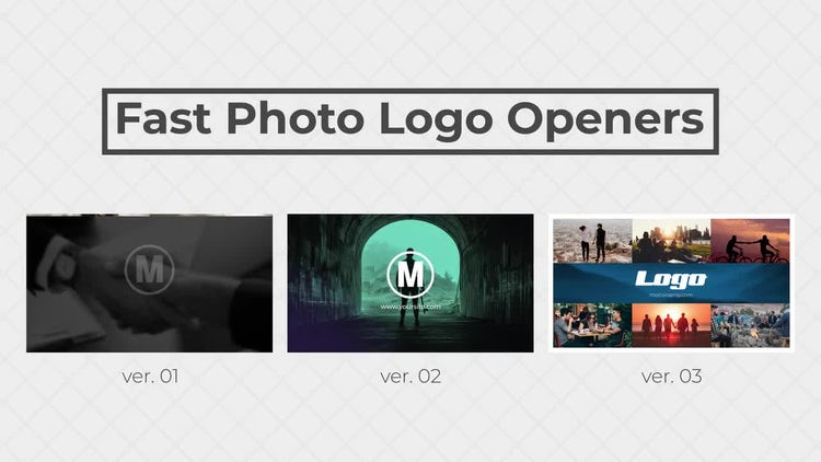 Fast Photo Logo Openers: After Effects Templates