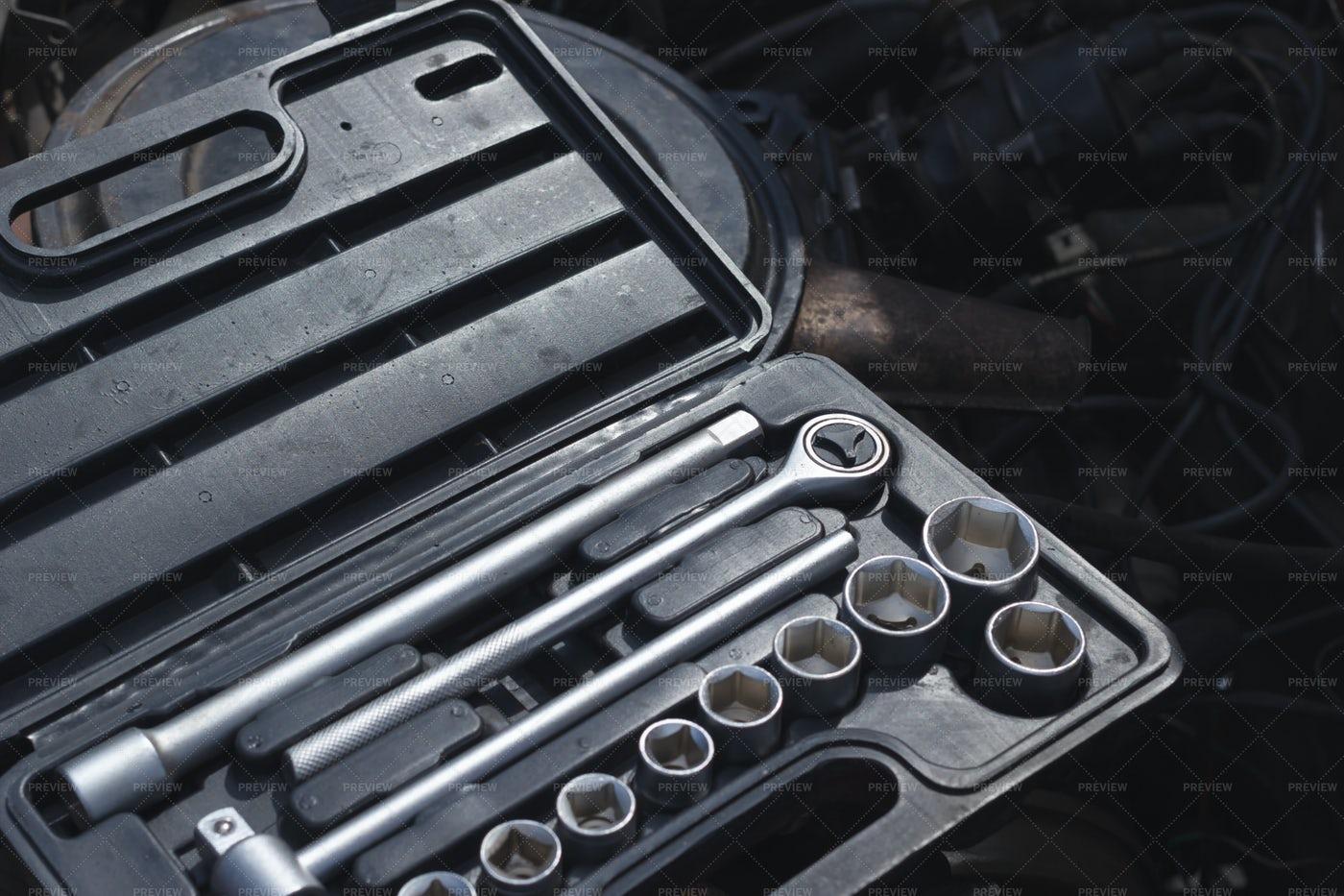 Repair Toolbox: Stock Photos