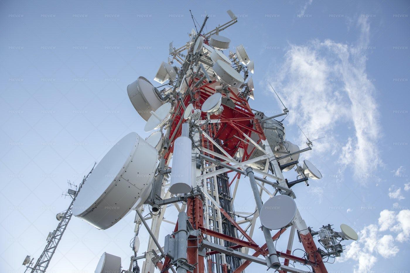 Radio Tower During Daytime: Stock Photos