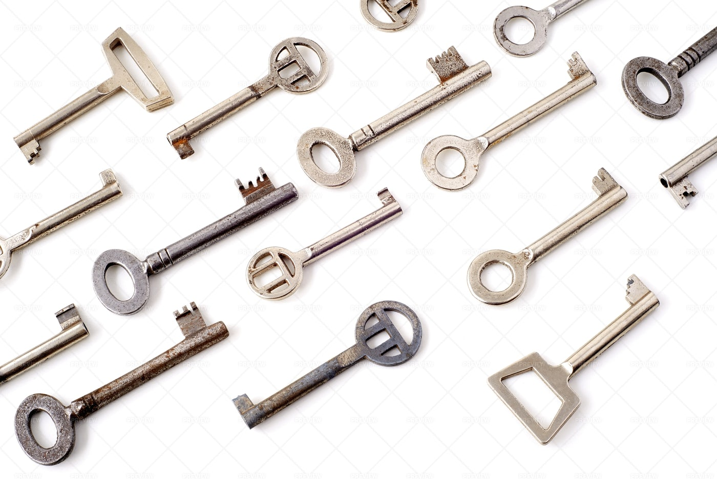 Old   Keys: Stock Photos