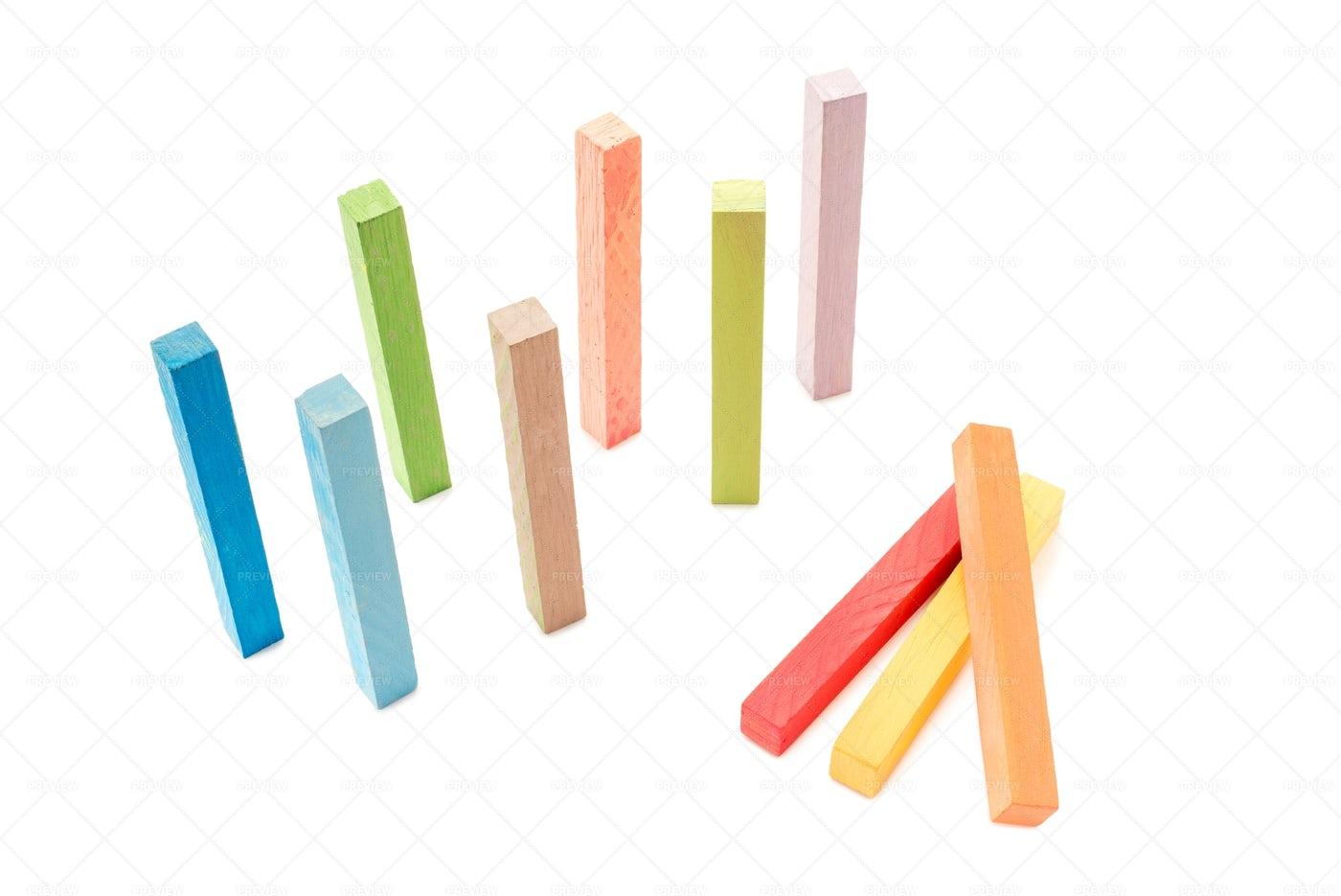 Colorful Chalk: Stock Photos
