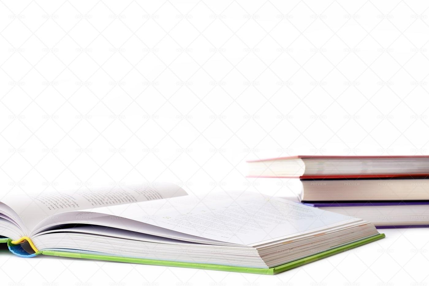 Bundle Of Books: Stock Photos