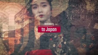 Welcome To Japan: After Effects Templates