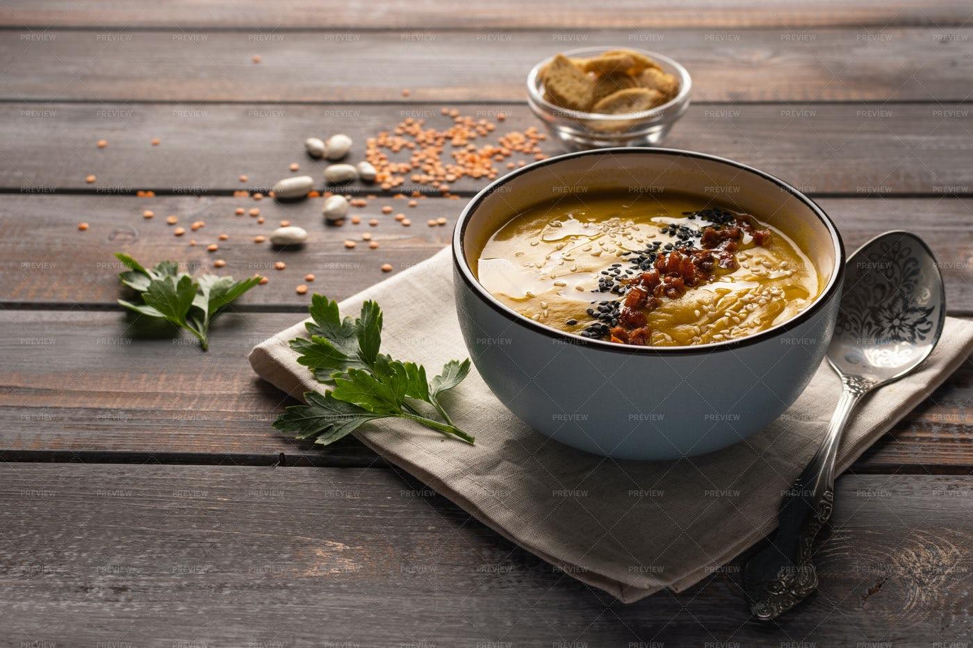 Creamy Soup: Stock Photos
