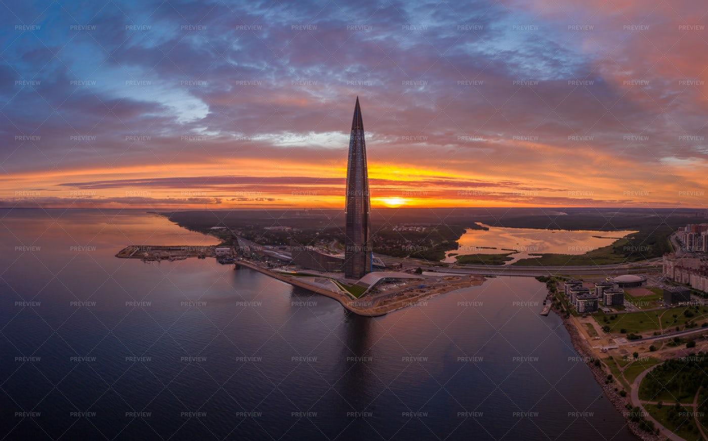 Lakhta Center Tower: Stock Photos