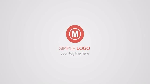 Simple Logo: Premiere Pro Templates