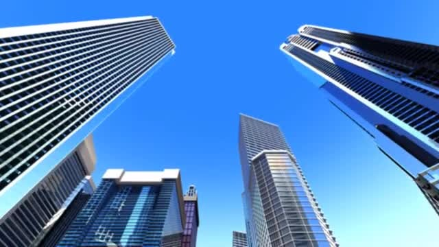 Business City: Stock Motion Graphics
