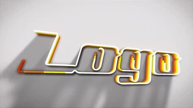 Colorful Logo Intro: After Effects Templates