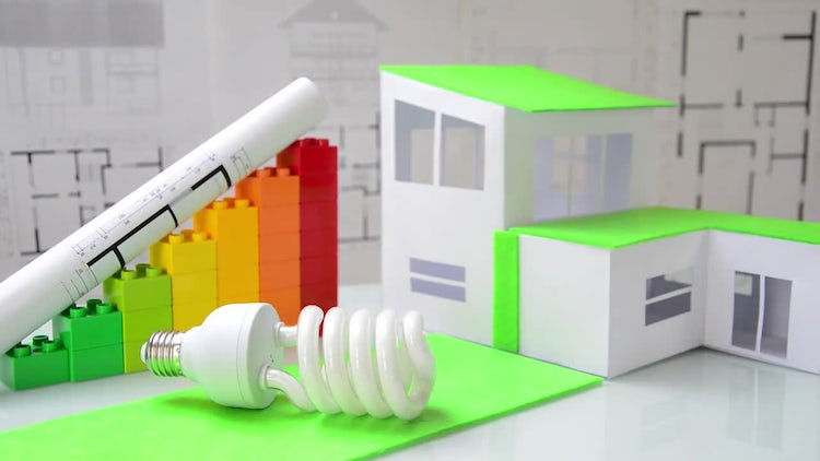 Energy Saving Light Bulb: Stock Video