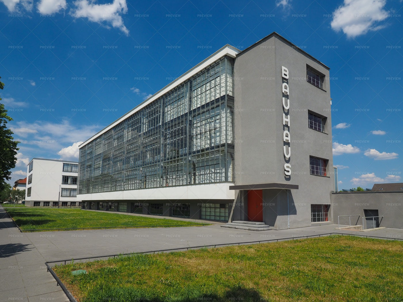 Bauhaus In Dessau, Germany: Stock Photos