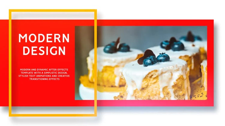 Food Slideshow: After Effects Templates